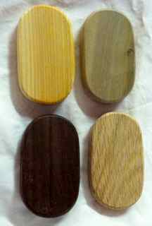 Oval Grooved Base 2 X 3 1/2