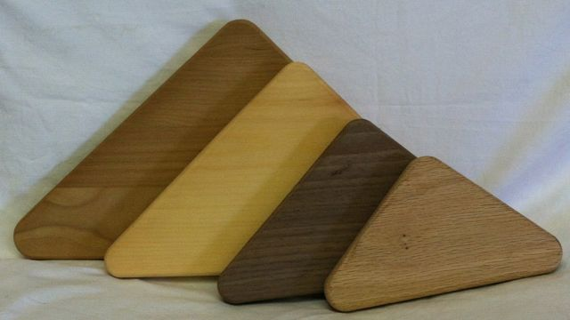 Triangle Grooved Base Cherry