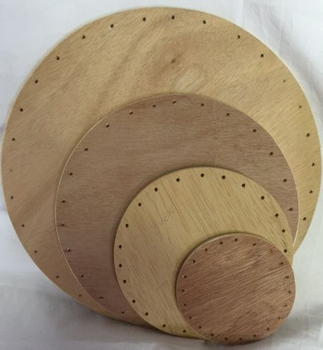 12 Inch Round Drilled Base