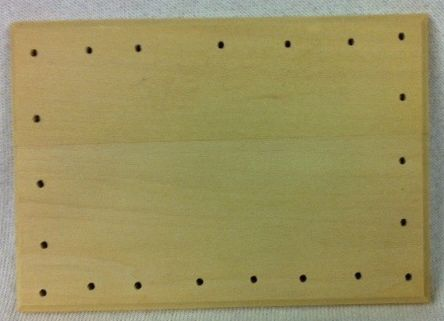 Rectangle Drilled Base 5 X 3 1/2 Inch