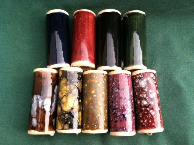 Large Stoneware Handles - Solid colors