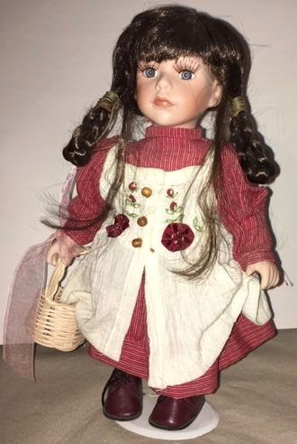 Doll 6 Red Dress