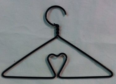 Mini Coat Hanger Wire Handle